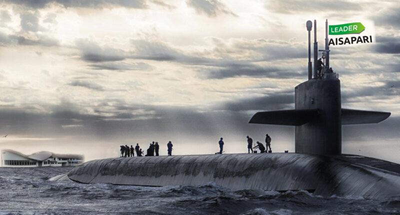 Kuvassa sukellusvene